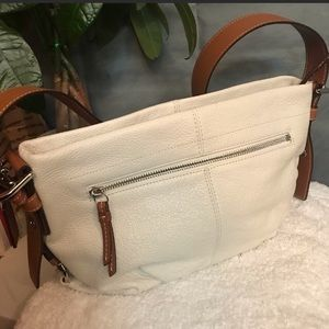 Coach East/West Duffle White Handbag